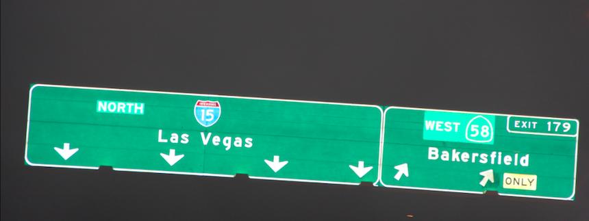 В Лас Вегас