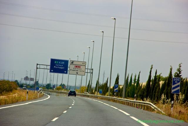 Дорога в Albufeira