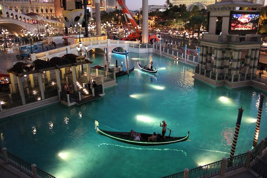 Венеция в Лас Вегасе